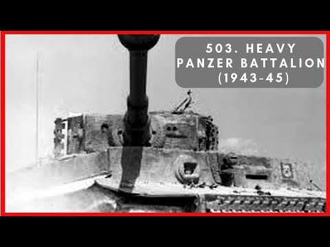 503rd Heavy Panzer Battalion (1943-45) – Sledgehammer of the Wehrmacht thumbnail