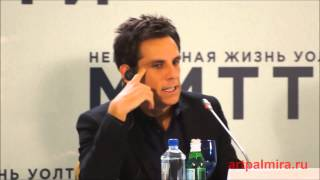 Пресс-конференция Бена Стиллера в Москве