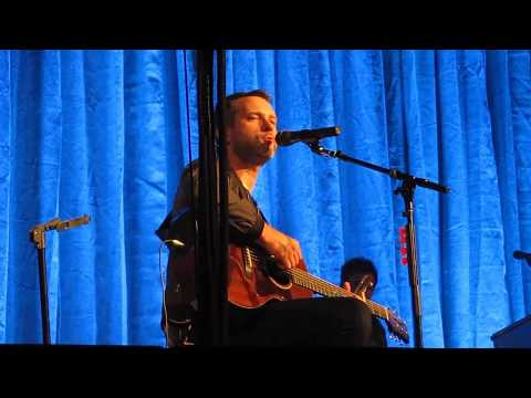"""Brandon Heath & Friends Performing """"I'm Not Who I Was"""" in Lowellville, OH on 9-16-16"""