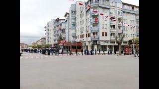 Karaman'da 1 km pazar kuyruğu