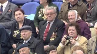 60 лет Великой Победы. Парад на Красной площади 9 мая 2005 года HD