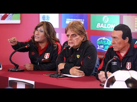 El Tigre Gareca y su conferencia de prensa tras la victoria ante Nueva Zelanda