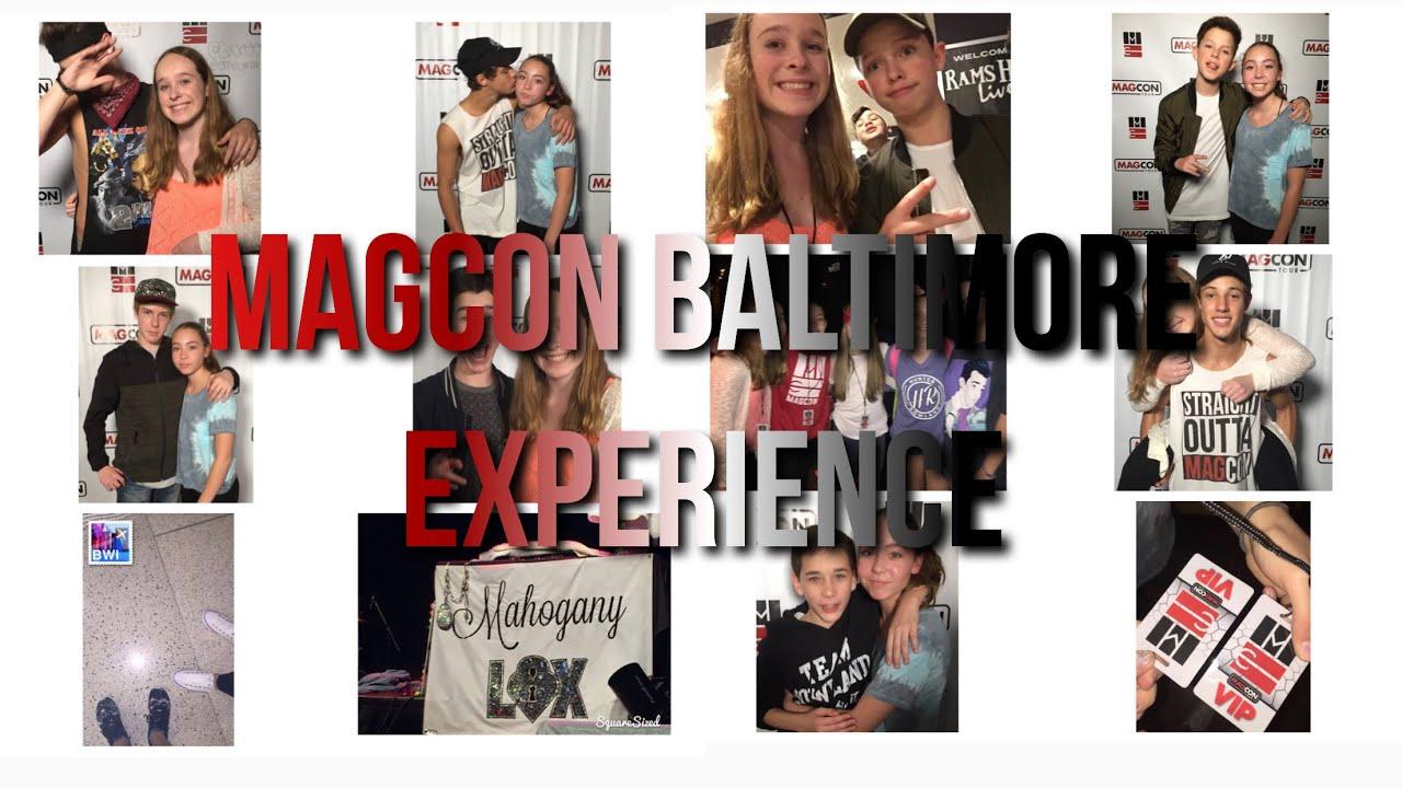 Meeting Cameron Dallas And Jacob Sartorius Magcon Baltimore