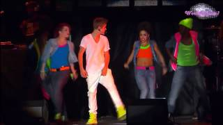 Justin Bieber - Somebody to Love (En El Zocalo De México Oficial HD)