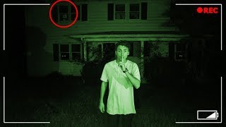SCARY HIDE AND SEEK IN HAUNTED ABANDONED HOUSE! BAD IDEA! (HIDE AND SEEK CHALLENGE)