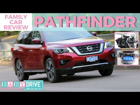 Family Car Review: Nissan Pathfinder 2018