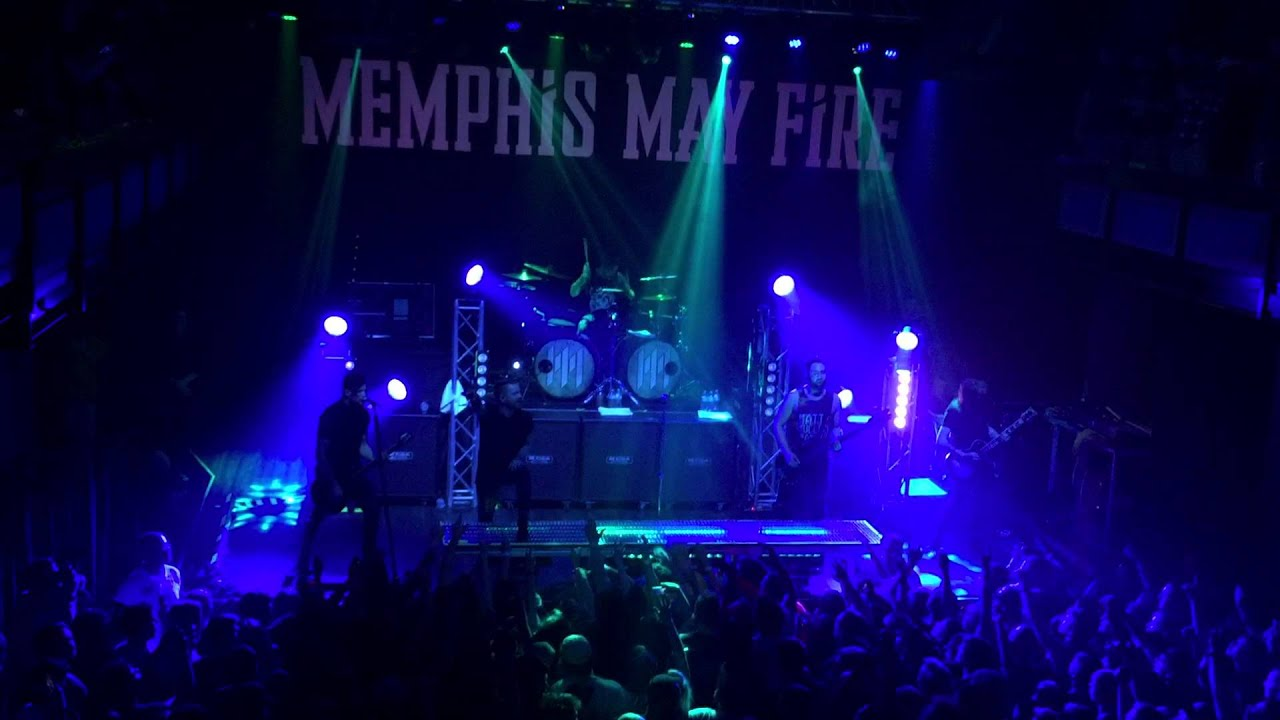 cone denim entertainment center Memphis May Fire