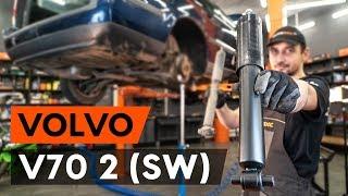 Kā nomainīt aizmugurējie amortizatori VOLVO V70 2 (SW) [AUTODOC VIDEOPAMĀCĪBA]