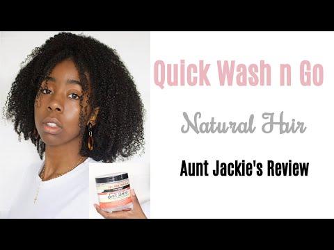 25-mins-wash-n-go-|-aunt-jackie-gel-review-|-type-4-natural-hair
