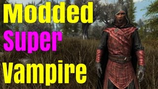 SKYRIM SPECIAL EDITION: How to become an unstoppable Super-Vampire!