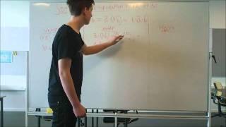 Video Matematik: Multiplikation med et tal