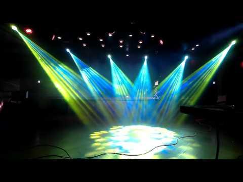 Restaurant Imperator stage lighting setup