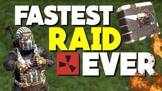 Rust - FASTEST RAID EVER!