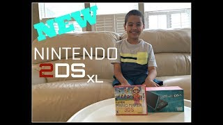 NEW NINTENDO 2DS XL UNBOXING WITH SUPER MARIO MAKER FOR 2DS