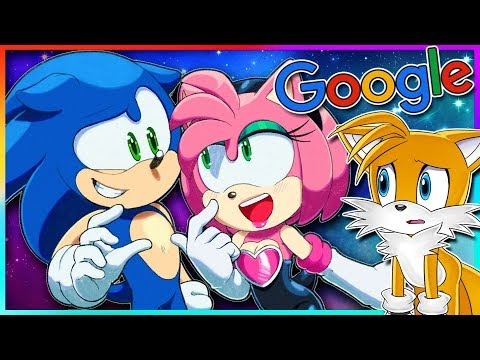 Tails Googles Amy Rouge (ft. Amy & Rouge)