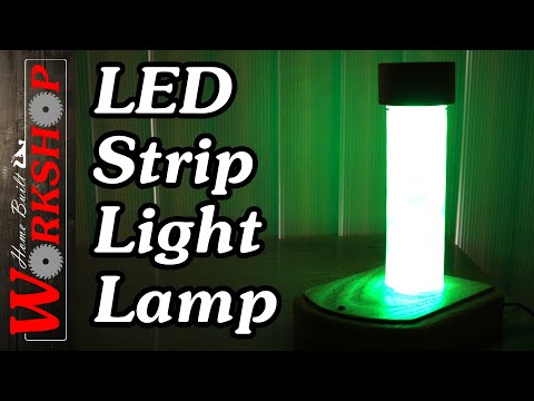 How to build an LED lamp (with LED Strip Lights)
