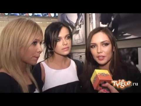 Serebro - Interview from tvigle.ru 3 of 4