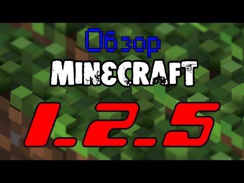 Обзор Minecraft 1.2.5
