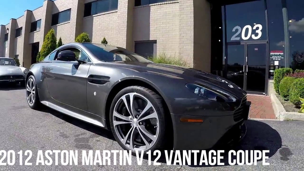 2012 Aston Martin V12 Vantage Coupe Youtube