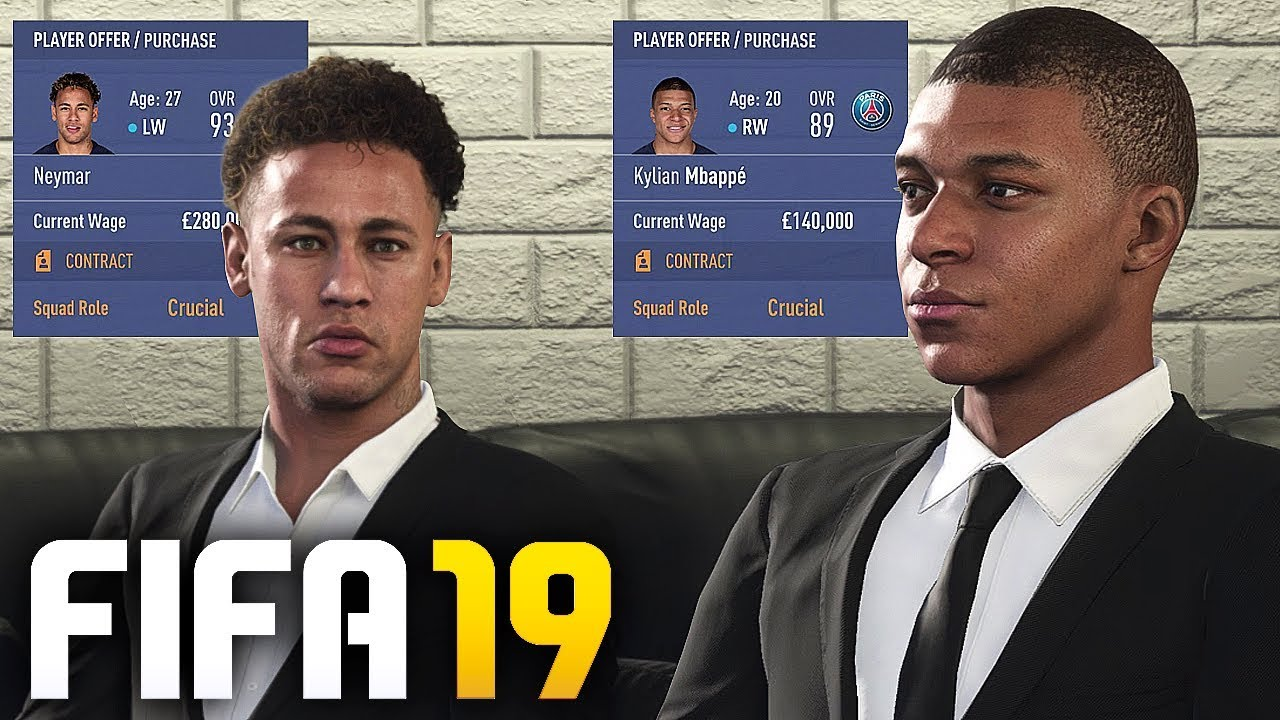 Mbappe Fifa 19 Potential