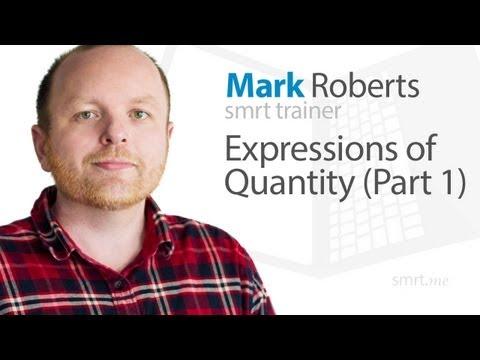 Expressions of Quantity (Part 1)