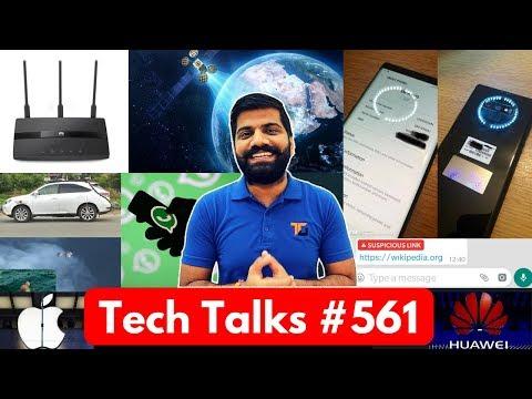 Tech Talks #561 - Facebook Athena Satellite, Sweat Sensor, TRAI Vs Apple, Nokia 6.1 Plus, Whatsapp