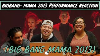 AMERICANS REACT TO BIG BANG MAMA 2013 PERFORMANCE!!!