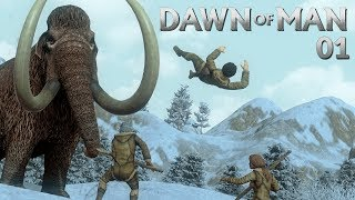 Dawn of Man | PRE-HISTORIC CITY BUILDING - Mini Let's Play 01 (Beta Gameplay)