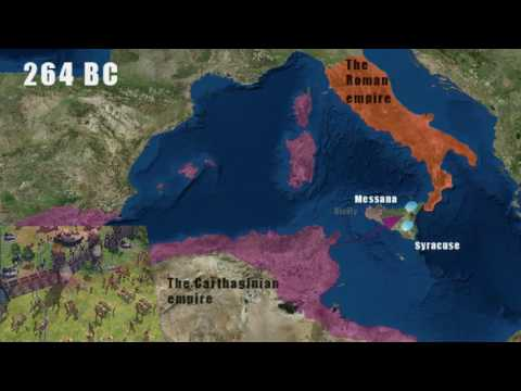 First Punic war -Explained in 2 minutes