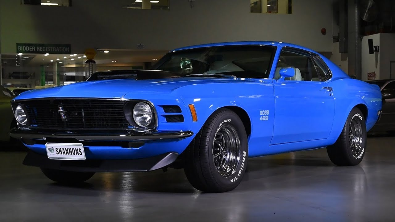 1970 Ford Mustang Boss 429 Fastback (LHD) - 2018 Shannons Sydney May Auction