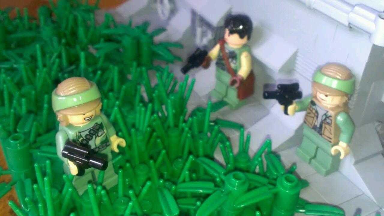 Lego Star Wars Rebels 2015 Imperial Bunkerbase On Endor Moc Youtube