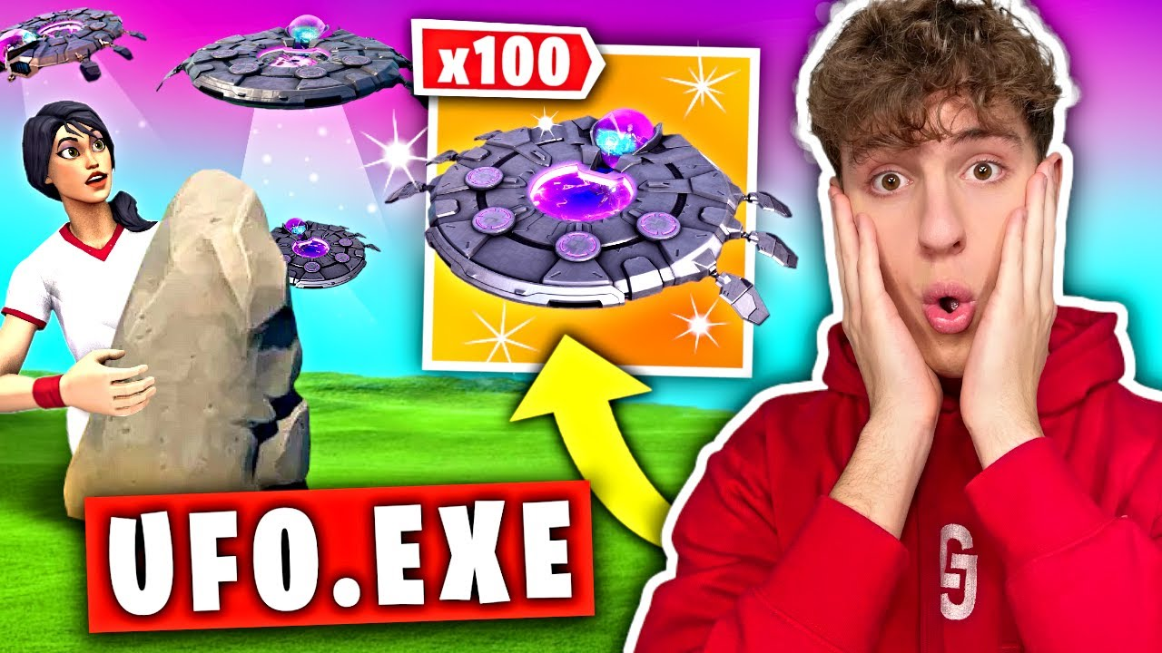 UFO.EXE w Fortnite