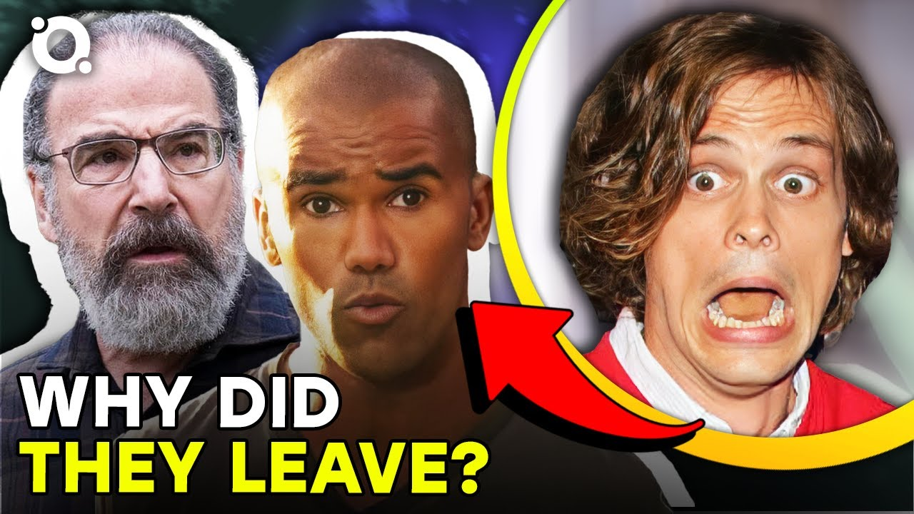 Download The Real Reason Why Main Characters Left Criminal Minds | ⭐OSSA