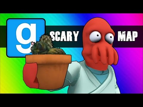 Gmod Scary Map (Not Really) Moments - Follow the Cocktus! (Garry's Mod Funny Moments)