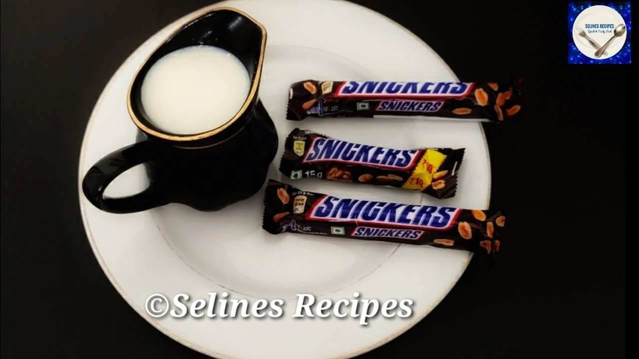 5 Minute Easy Chocolate Sweet Recipe | Deep Fry  Snickers  Chocolate Recipe |Instant Evening Snacks