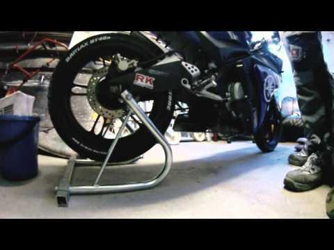 Yamaha YZF R125 Leovince ohne ESD