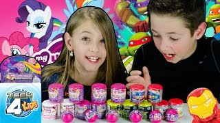 Tech 4 Kids FASH'EMS MASH'EMS My Little Pony Hello Kitty LPS TMNT MARVEL Superheroes Flappy Bird Pt1