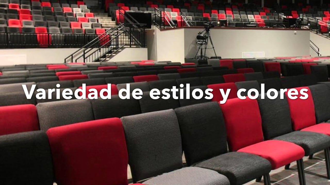 sillas para iglesias youtube