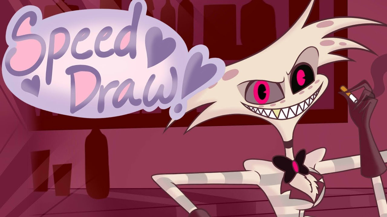 Speed draw angel dust vivziepop youtube