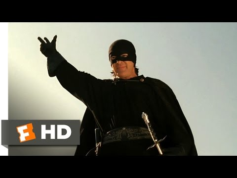The Legend of Zorro (2005) - Sword Fight on the Bridge Scene (1/10) | Movieclips