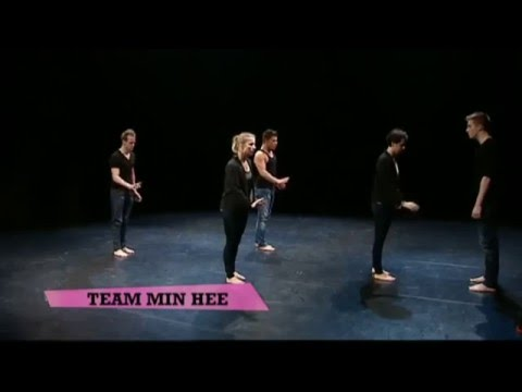 Team Min Hee going for emotions  The Ultimate Dance Battle