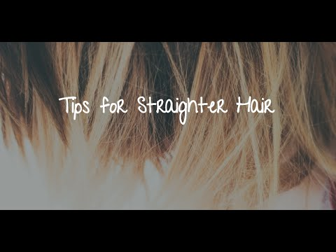 Hair Straightening Tips