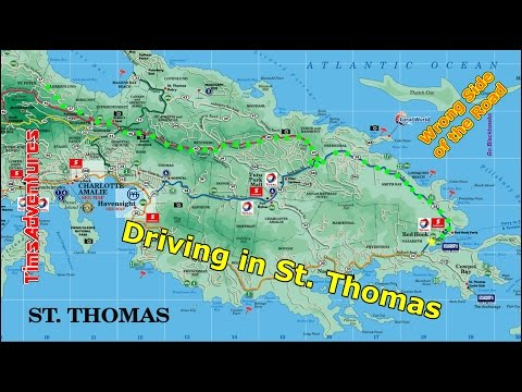 Driving In St. Thomas 2015
