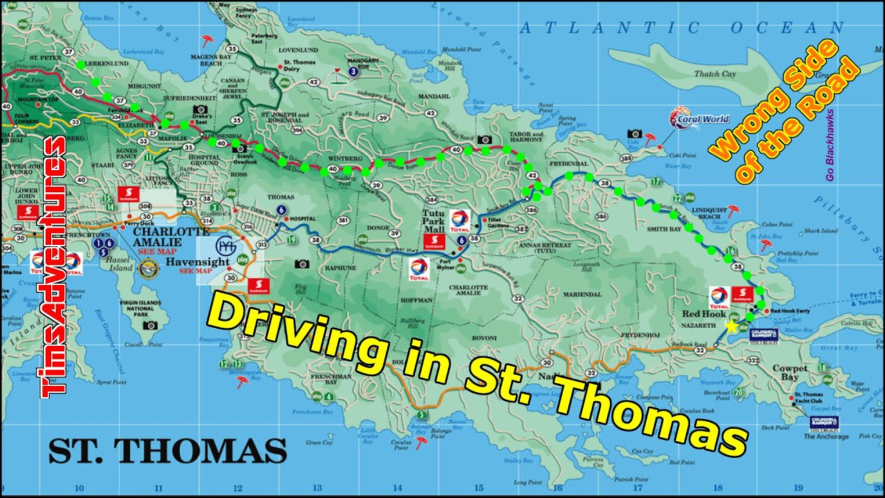 driving in st thomas 2015