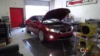 K&N Intake 9th Gen Honda Accord Coupe EX-L V6 w/Nav 6 Speed Manual Transmission Dyno Test