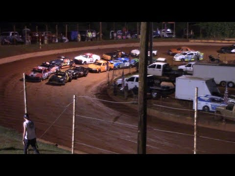 Winder Barrow Speedway Stock 4 Cylinders B's Feature Race 7/6/19