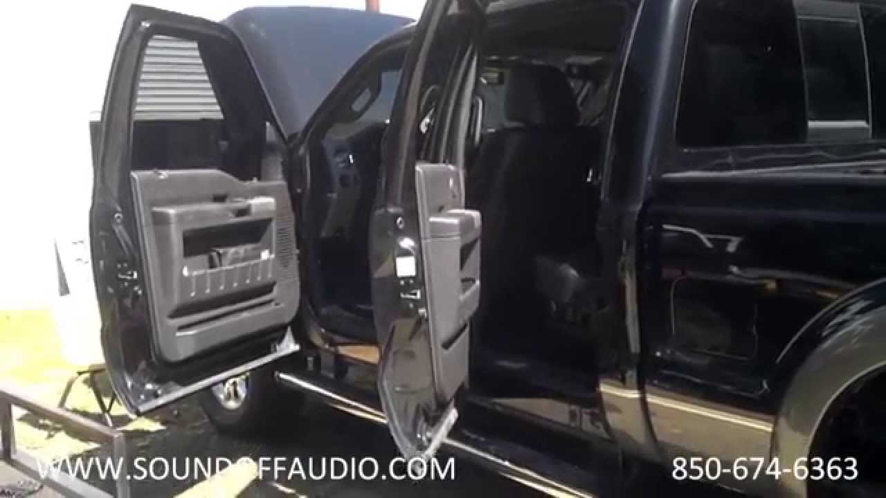 2003 Hummer H2 Radio Wiring Diagram 2011 2014 F250 Crew Cab Speaker Box Installed With Factory