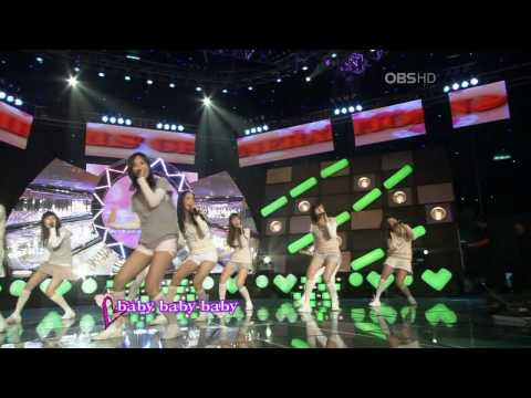 HD SNSD - Baby Baby , Mar19.2008 2/2 GIRLS' GENERATION Live 720p