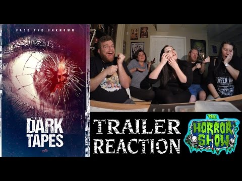 """The Dark Tapes"" Anthology Horror Movie Trailer Reaction - The Horror Show"