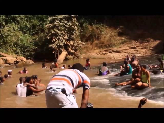 kintampo waterfalls,Ghana